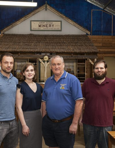 mt nathan winery team