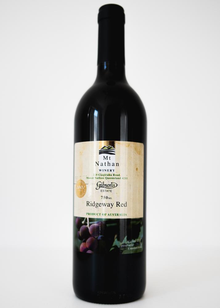 Mt Nathan Winery Ridgeway Red Wine 750ml
