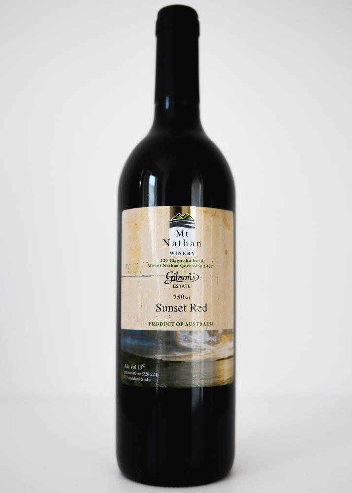 Mt Nathan Winery Sunset Red Wine 750ml
