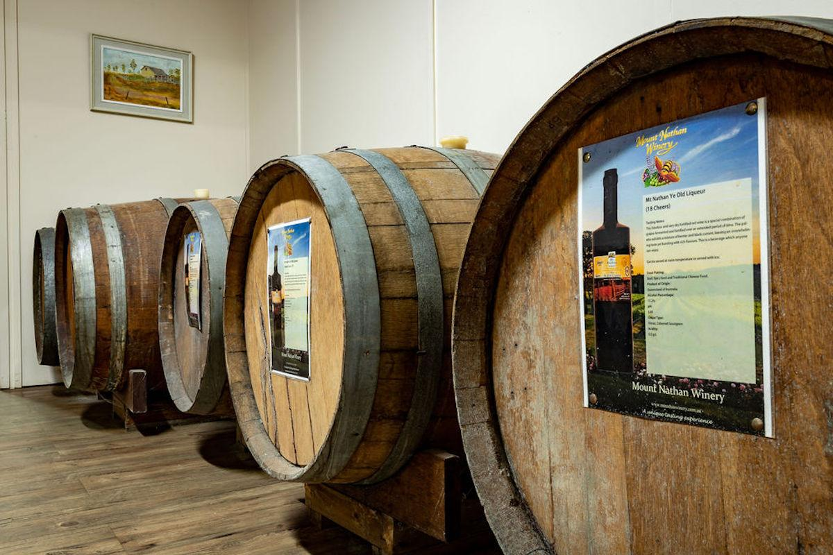 Mount Nathan Winery Barrel